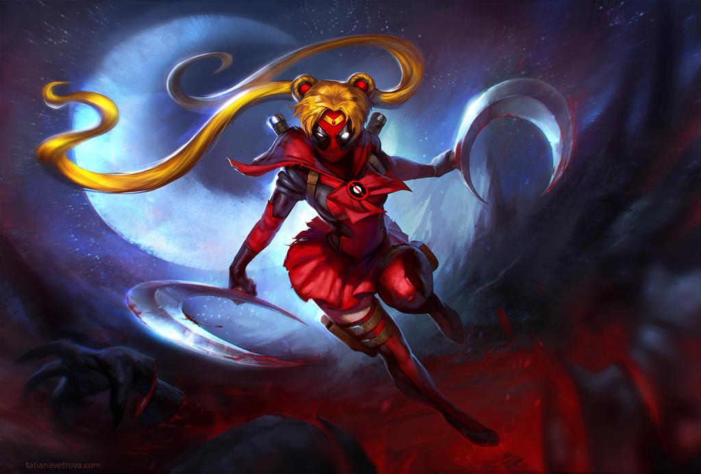 Sailor Deadmoon by Vetrova