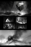 Bw Environment sketches by Vetrova