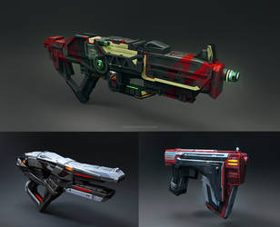 Weapon set 01 by Vetrova