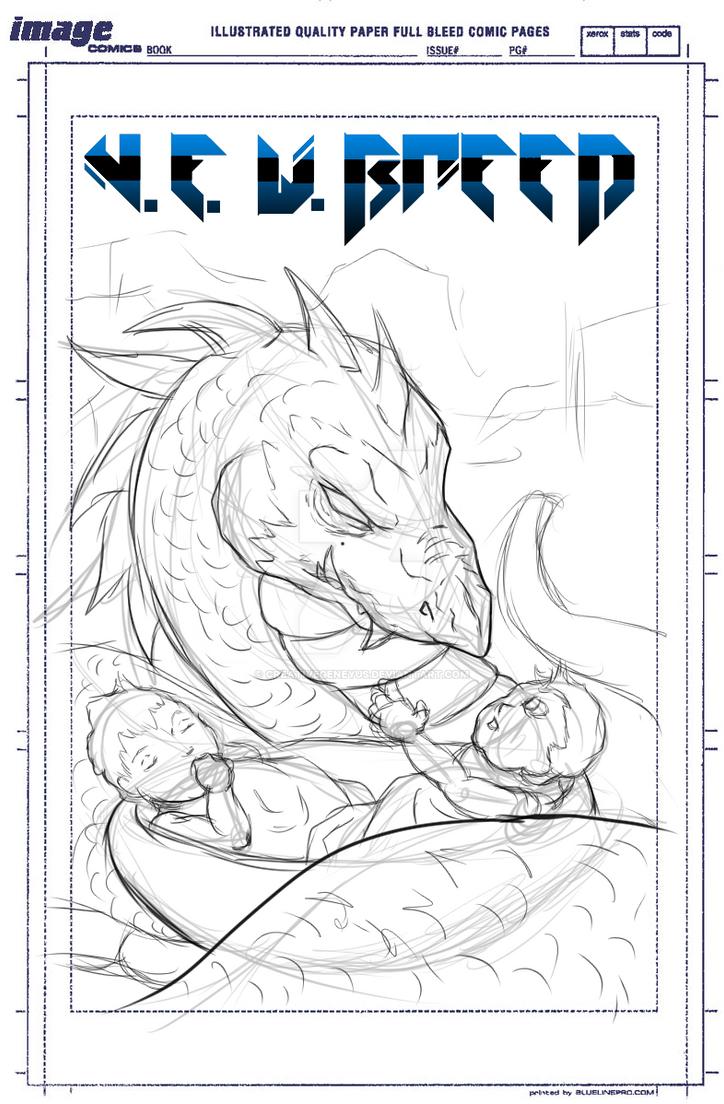 N.E.W. Breed Comic Cover Variant by CreativeGeneyus