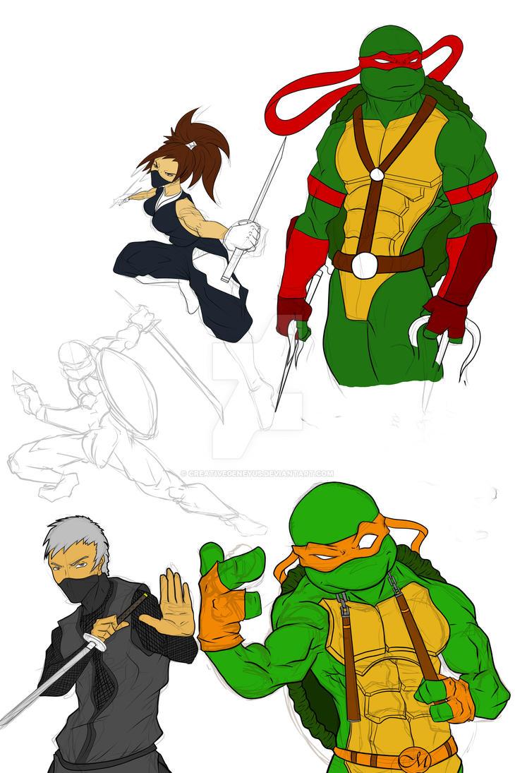 Ninja Powah! (Flats Update) by CreativeGeneyus