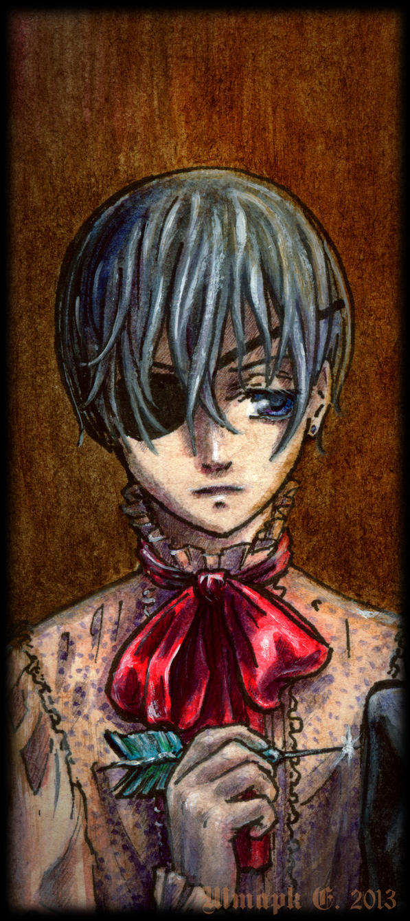 Black Butler. Ciel. by Shtarka