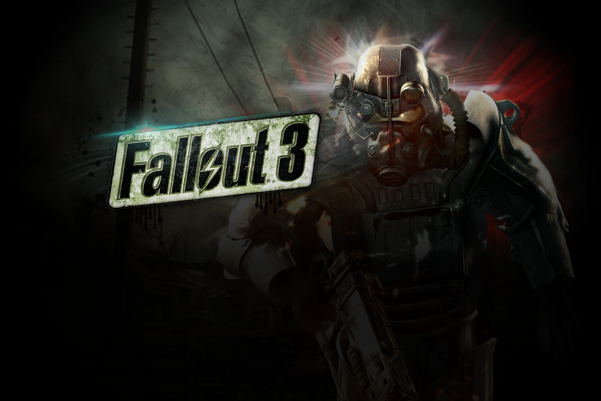 Fallout 3 Desktop Background By Kamilakamek On Deviantart