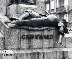 Grunwald Battle Statue-Krakow by Quenta-Silmarillion