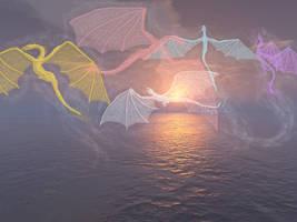 dragon dance by dracontologe