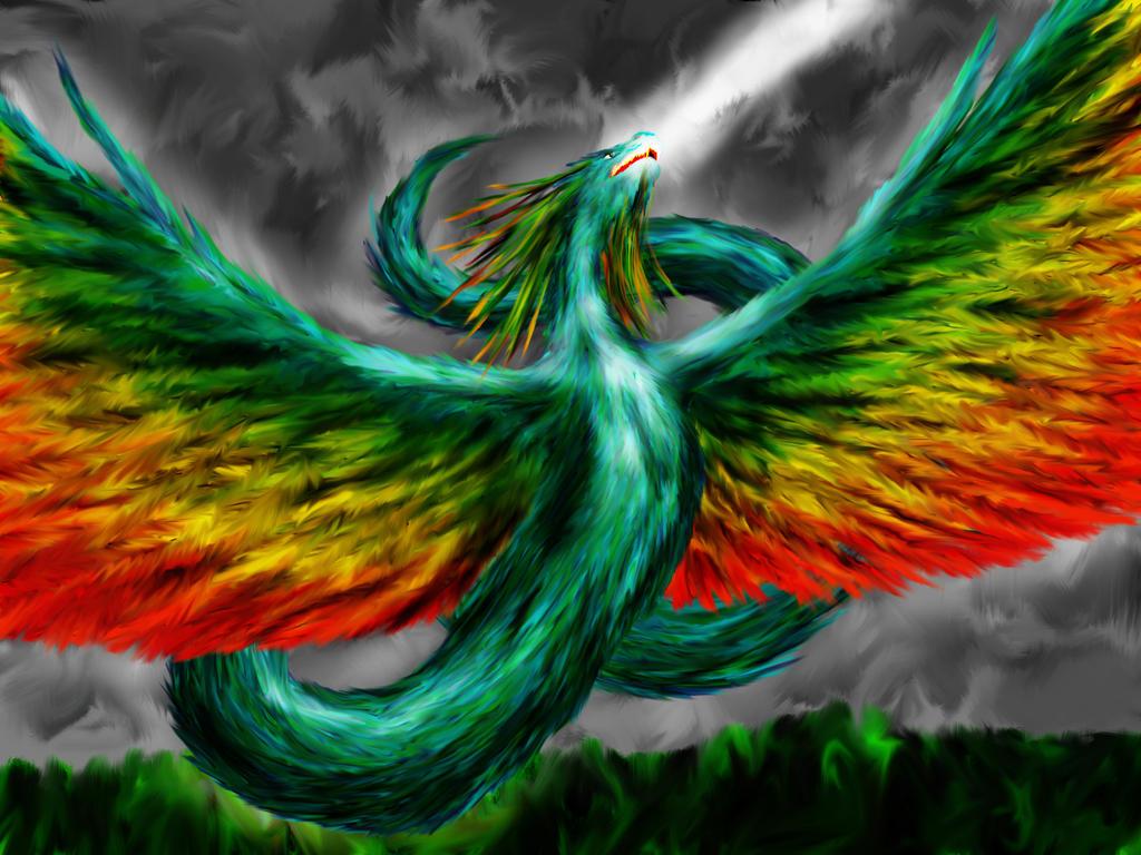 Quetzalcoatl by dracontologe