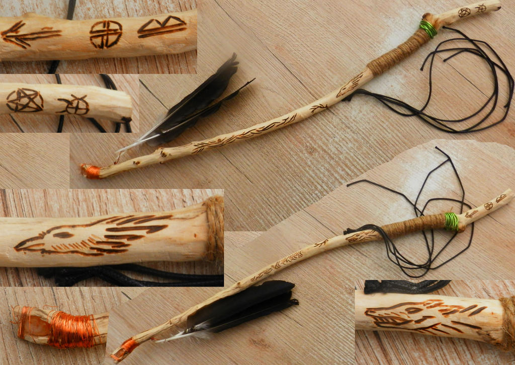 Wiccan Ceremonial Wand