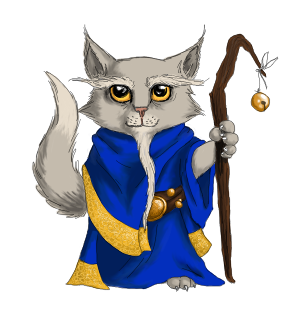 Old Cat Mage by Reykur