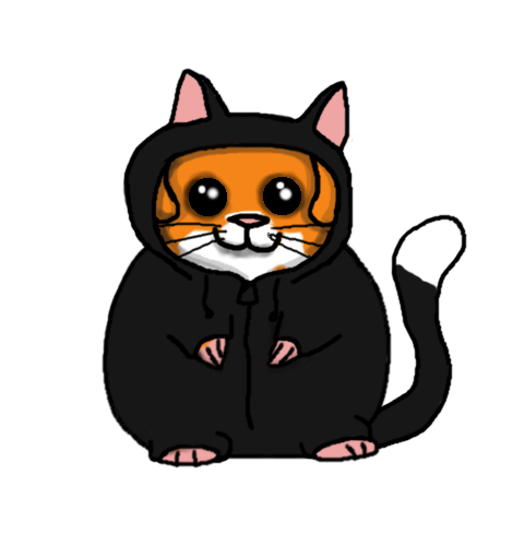 Hamster in Kitty Costume by Reykur
