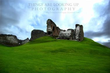 Duffus Castle by thingsarelookingup