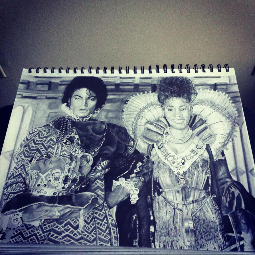 Whitney Houston And Michael Jackson King And Queen Michael jackso    Whitney Houston And Michael Jackson Kissing