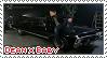 Dean x Baby stamp by sonikkuruzu
