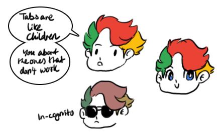 Google Chrome doodles by sonikkuruzu