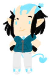 Another lineless cheeb