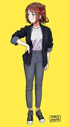 Kasumi Toyama by hector026