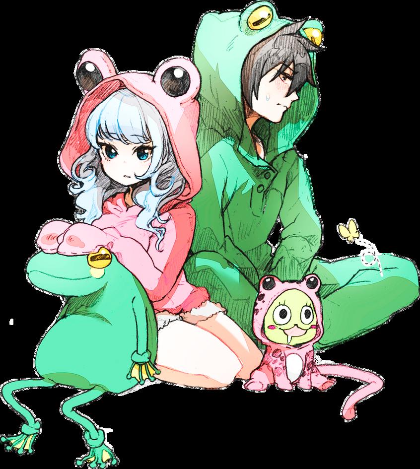 Frogs :3 by xKushinaa