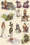 Marvelous Land of Oz - (sketchdump)