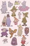 Moomin Scribbles