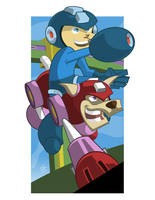 Megaman by ChenUp