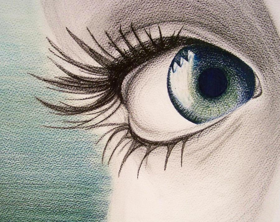 ابدآآآآآآآآآآآآآآع  القلم Eye_Study_Colored_Pe