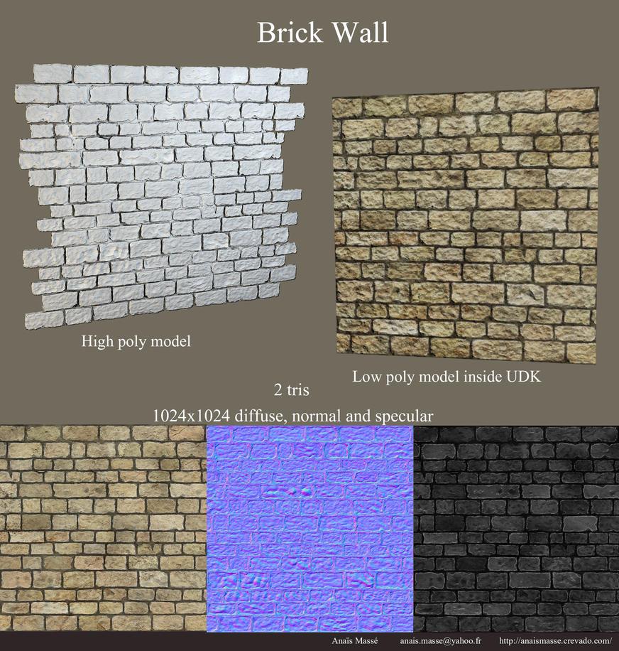 Brick Wall by amaterasu111