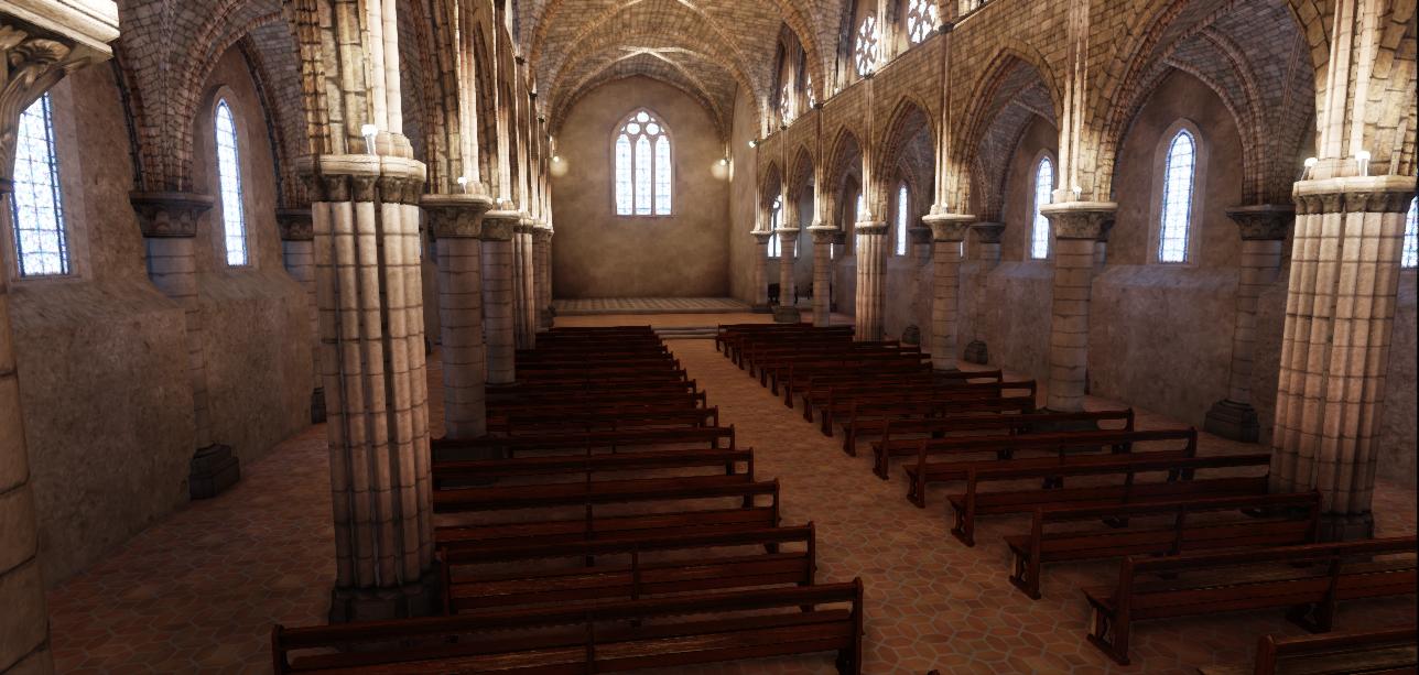 Church UDK Environment WIP 7 by amaterasu111