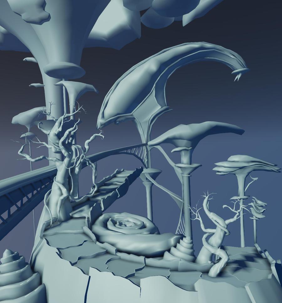 Terra - Final Fantasy IX - Screen 1 WIP by amaterasu111