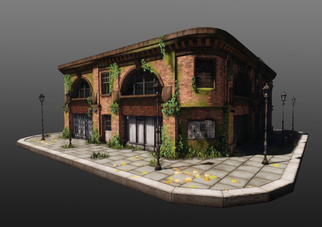 Abandoned building by amaterasu111 on deviantart for 3d house building games online
