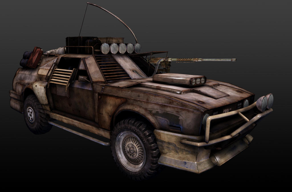 Military vehicle by amaterasu111