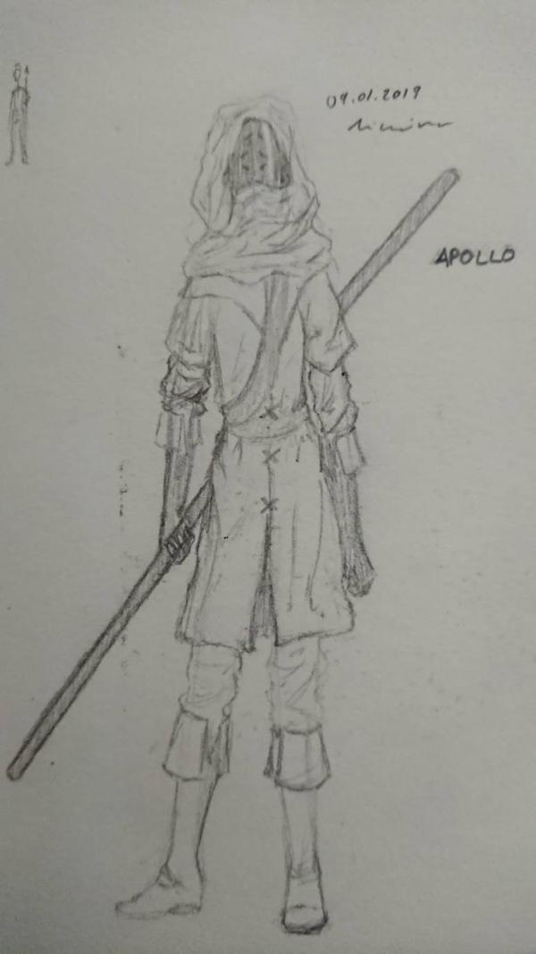 Apollo (Sketch #1)