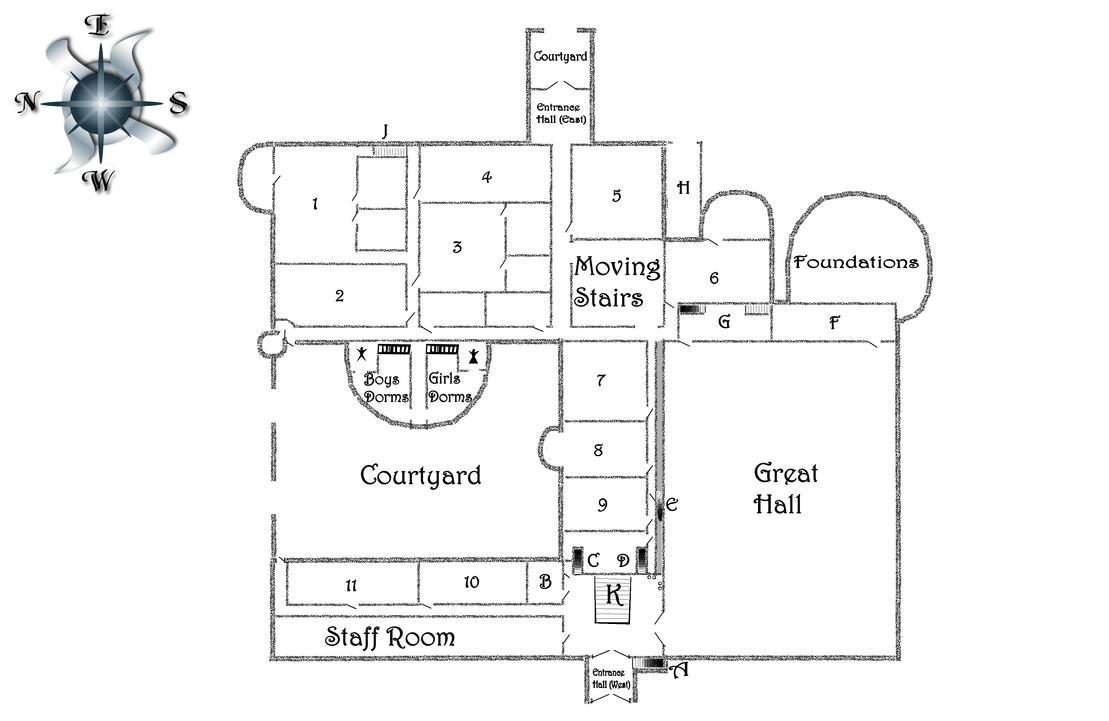 Sims 3 Mansion Floor Plans Hp Hogwarts Ground Floor By Regasssa On Deviantart
