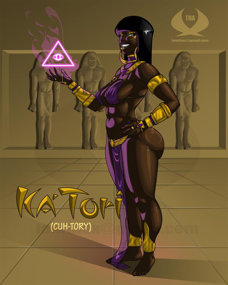 Ka'Tori The Egyptian Goddess by THA-X