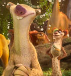 Sid and Buck - My favourite Ice Age characters