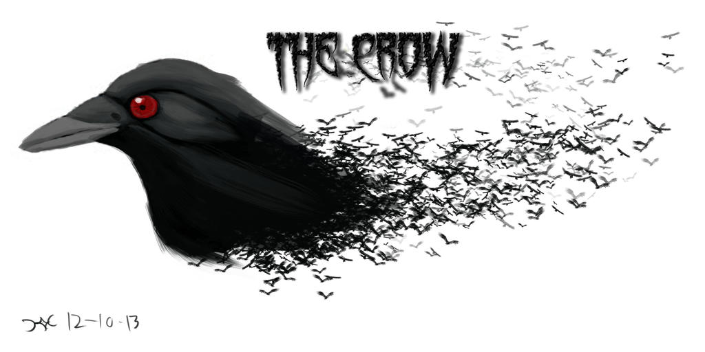 The Crow Wallpaper By GHOST WORKS