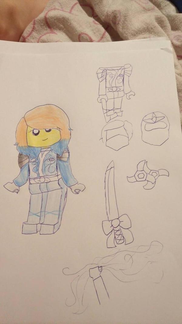 Elena's outfit ~ Ninja Team by ElenaWindMaster
