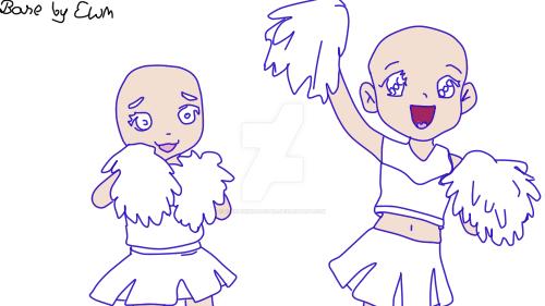 .:Cheerleaders:. by ElenaWindMaster