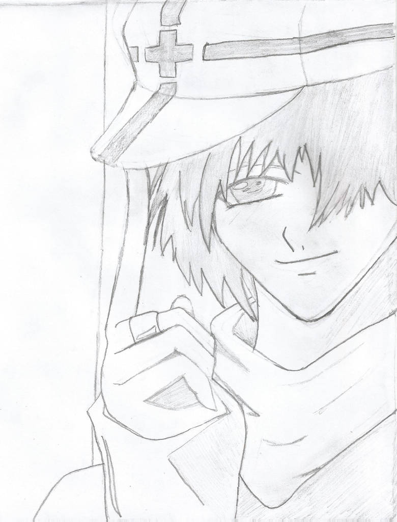 Cool anime boy drawing by ryo67191