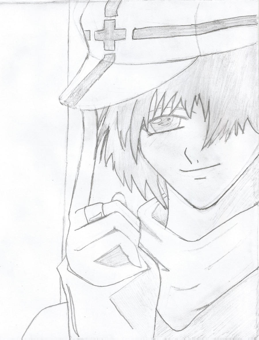 Cool anime boy drawing by ryo67191 on deviantart for Cool easy anime drawings