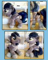 Midnight Deluge - Stallion Plush