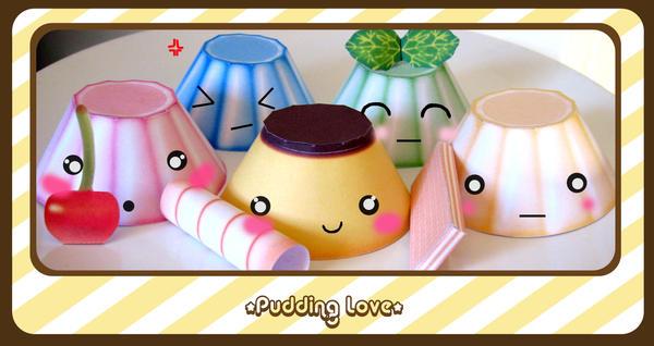 Pudding Love 2 by kickass-peanut