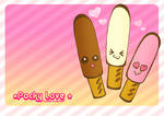 Pocky Love Wallpaper