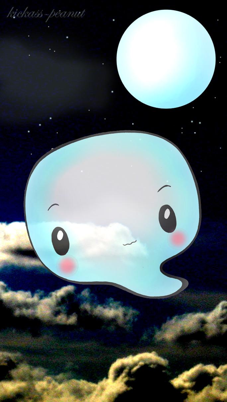 Speechbubble ghostie by kickass-peanut