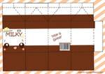 Choco Milky PaperCraft