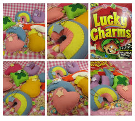 Lucky Charm Charms by kickass-peanut