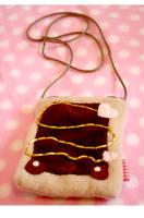 Choco 'tart Pouch by kickass-peanut