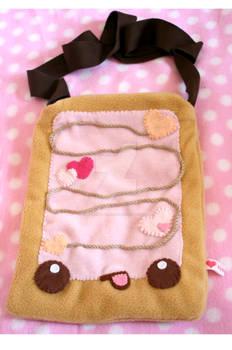 Pink Poptart Bag