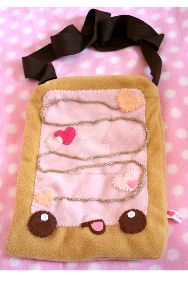 Pink Poptart Bag by kickass-peanut