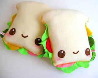 Ham Salad Sandwiches by kickass-peanut