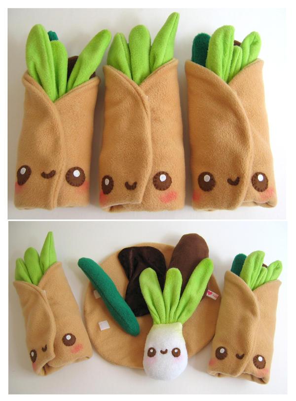 Hoisin Duck Pancake Wrap by kickass-peanut