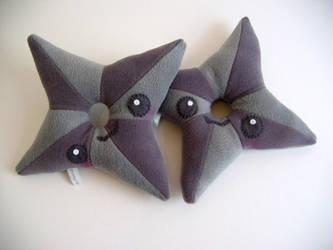 Shuriken throwing Stars